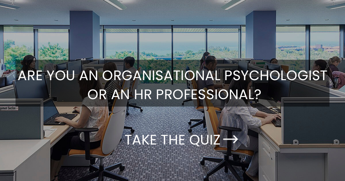 Human Resources vs Organisational Psychology - Find My Pathway